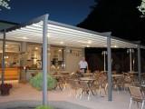 Vip Tende firma la nuova terrazza per l'Eis Cafè Ai Giardini