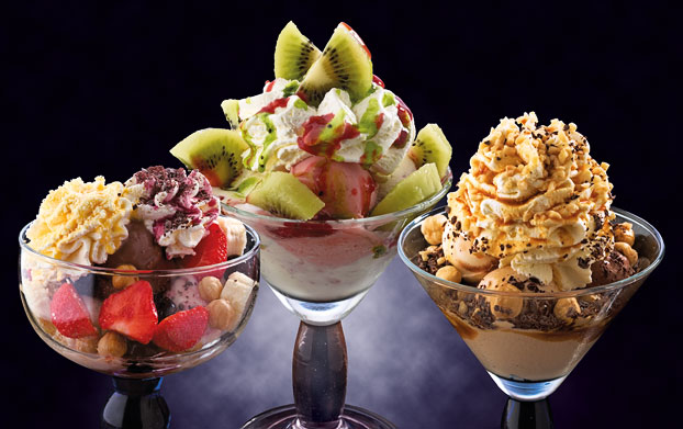 Coppe gelato realizzate da Paolo Pillot, Paolo's Eiscafe